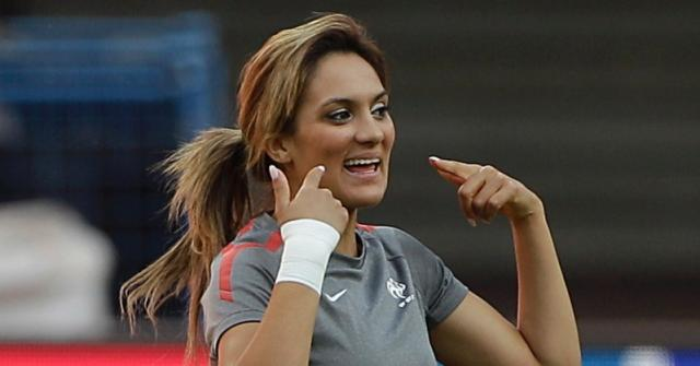 Hottest Female Soccer Players 2015