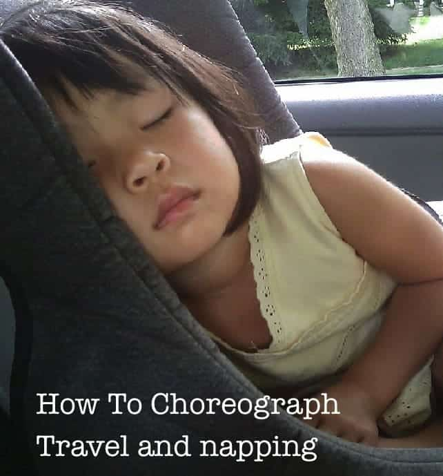 Tips for fitting in toddler naps on vacation. #toddler #vacation #nap