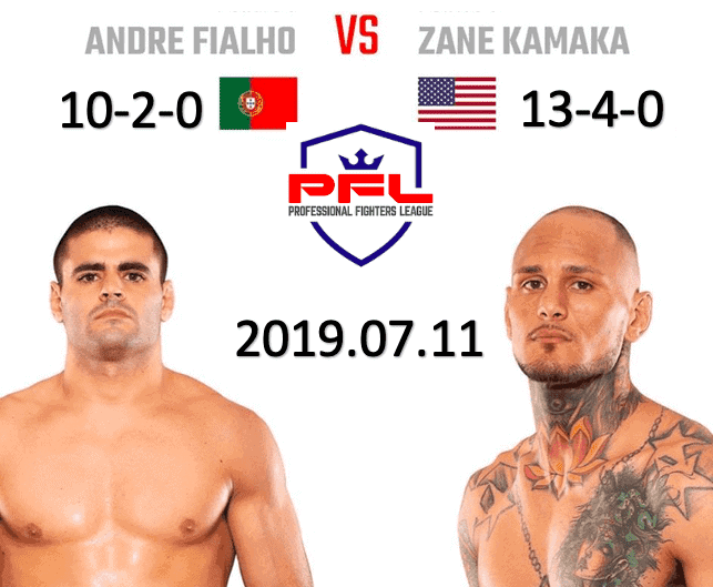 Andre Fialho vs Zane Kamaka PFL 2019 Fight