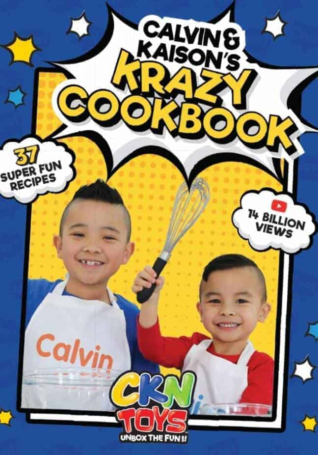 Calvin and Kaison's Krazy Cookbook Cover