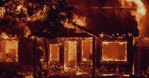real estate listings and market value during wildfire