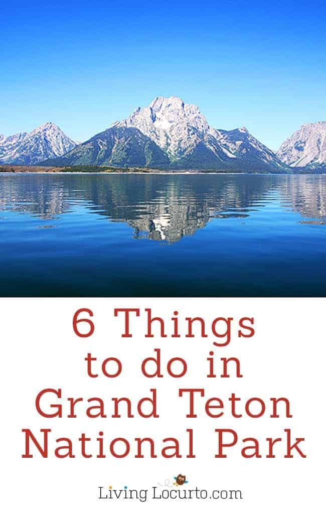 Yellowstone Grand Teton National Geographic Family Expedition - 6 Things To Do on a Family Vacation to Grand Teton National Park. Must do activities that the whole family will enjoy! Kids outdoor adventure travel tips.