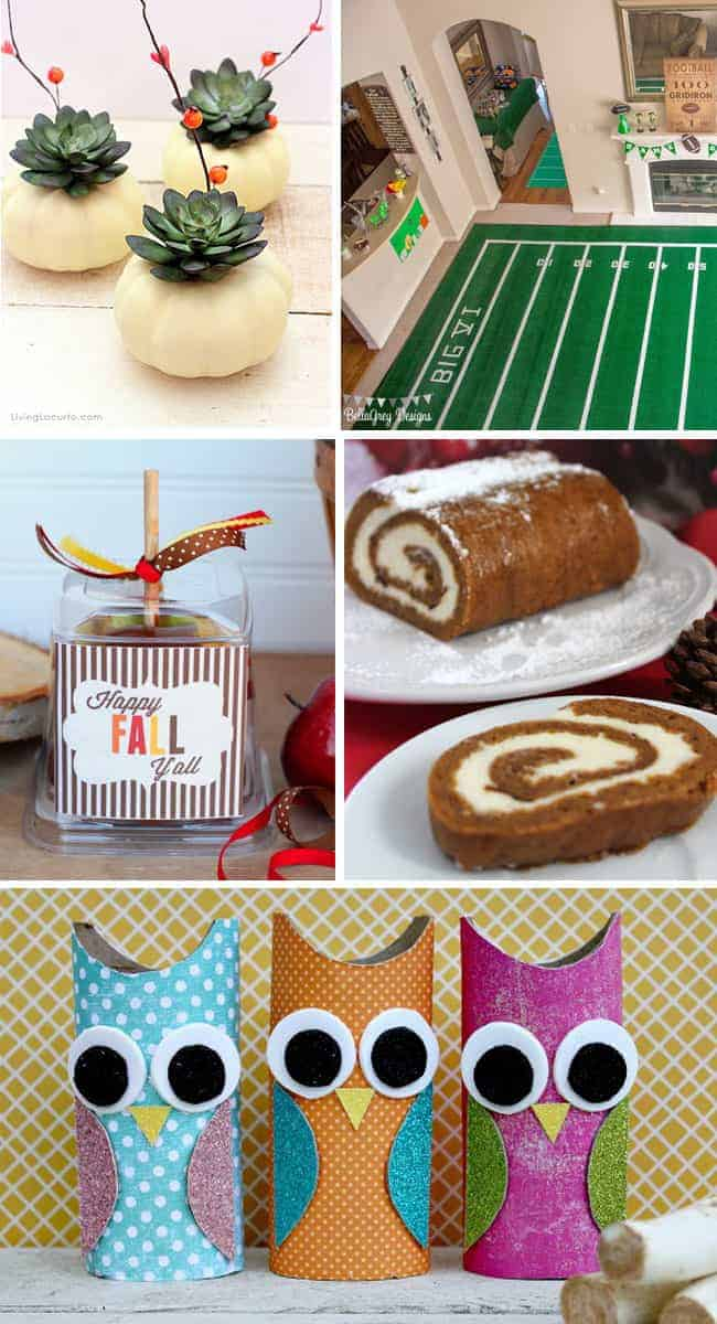 15 Fun Fall Party Ideas. Fabulous recipes, crafts, gifts and more!