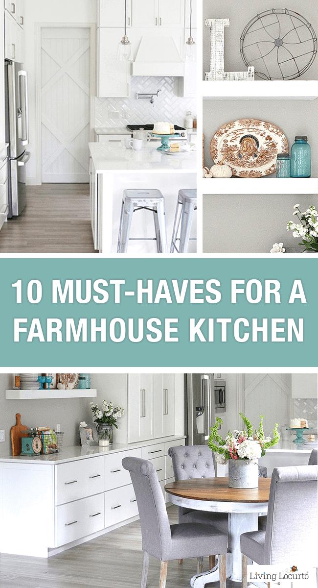 Farmhouse Kitchen Decorating Ideas 10 Easy Farmhouse Decor Ideas