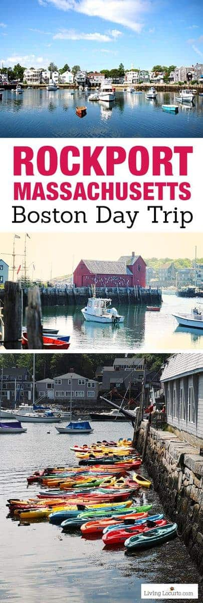 Travel photos of historic Rockport, Massachusetts. A New England fishing village full of wonderful food, shopping and activities! Fun day trip from Boston.