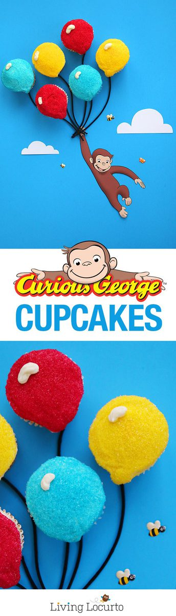 How to make the cutest Curious George Cupcakes!