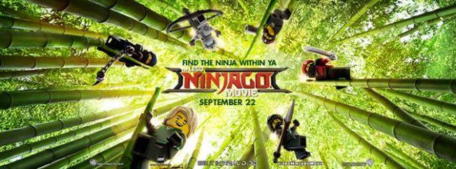 The LEGO NINJAGO Movie Bingo game.