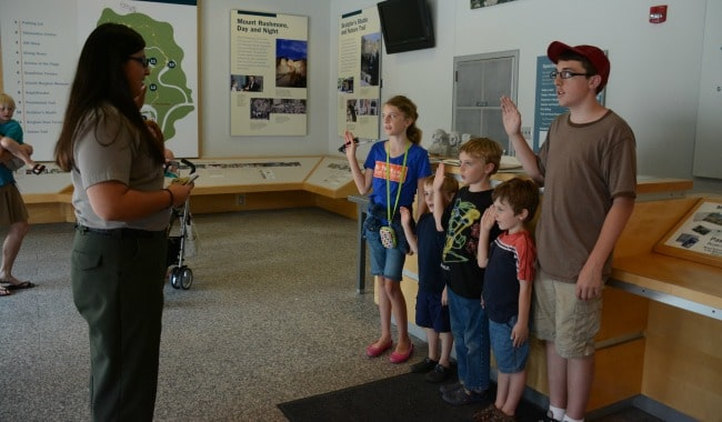 Becoming a Junior Ranger at our National Parks