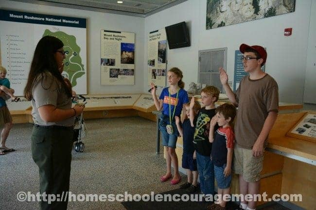 Becoming a Junior Ranger in our National Parks