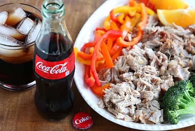 3 Ingredient Slow Cooker Coca-Cola Pork Roast. A mouthwatering Crock Pot meal.