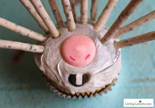 Easy recipe for Wonder Park Porcupine Cupcakes. Learn how to turn a lovable movie character into a sweet dessert.