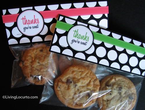 Thank You Free Printable Tags - Teacher Gift - LivingLocurto.com