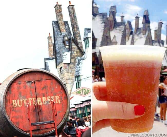 Easy Butterbeer Recipe is a perfect cold treat for all Harry Potter lovers!