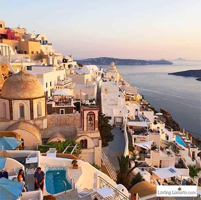 Santorini, Greece. Greek Islands Travel Photo. LivingLocurto.com