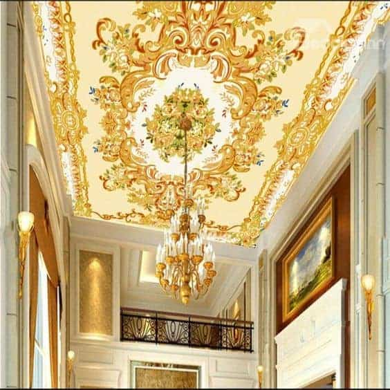 Single layer ceiling solutions