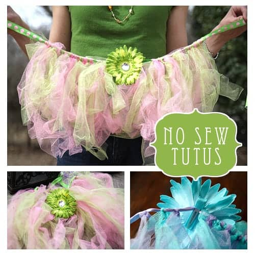 How to make a No-Sew-Tutu - Bring the sparkle to any birthday party or kids activity with the most magical Fairy Party and Craft Ideas!