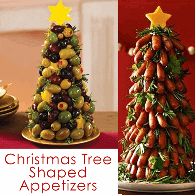 hese unique Christmas Tree Food ideas are the perfect recipes for Christmas Appetizers!