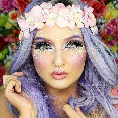 Beautiful Fairy Make-Up Tutorial - Bring the sparkle to any birthday party or kids activity with the most magical Fairy Party and Craft Ideas!