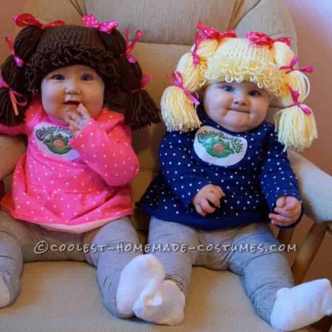 Cabbage Patch Kids - Cute Halloween Costumes! Over 25 of the Best DIY Halloween Ideas to inspire you on Trick or Treat night!