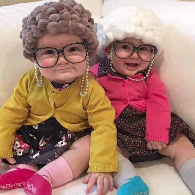 Old Lady Pom Pom Hair Hats - Cute Halloween Costumes! Over 25 of the Best DIY Halloween Ideas to inspire you on Trick or Treat night!