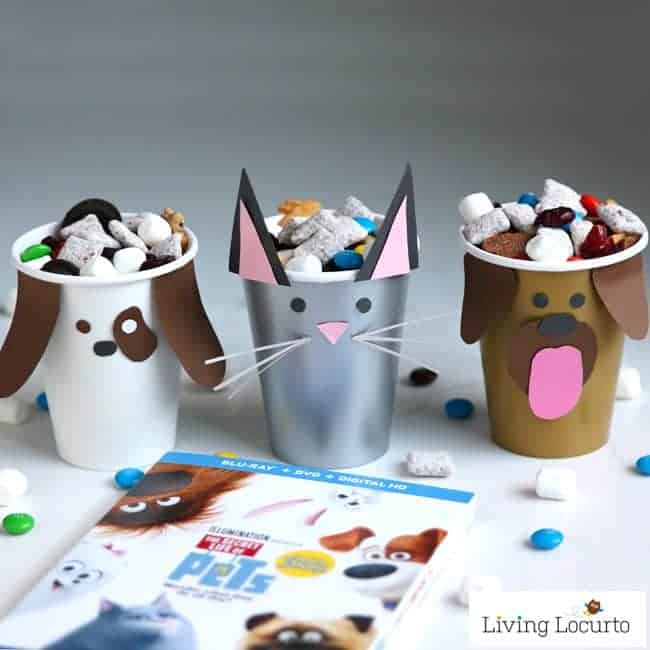 32 Indoor Crafts for Kids - Dog and Cat Paper Cups