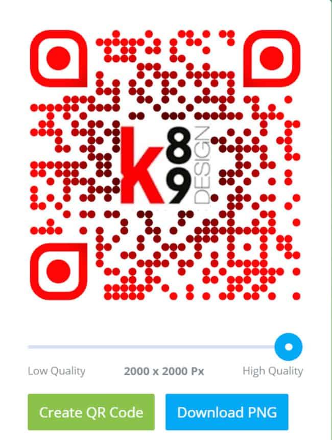 qr code K89Design
