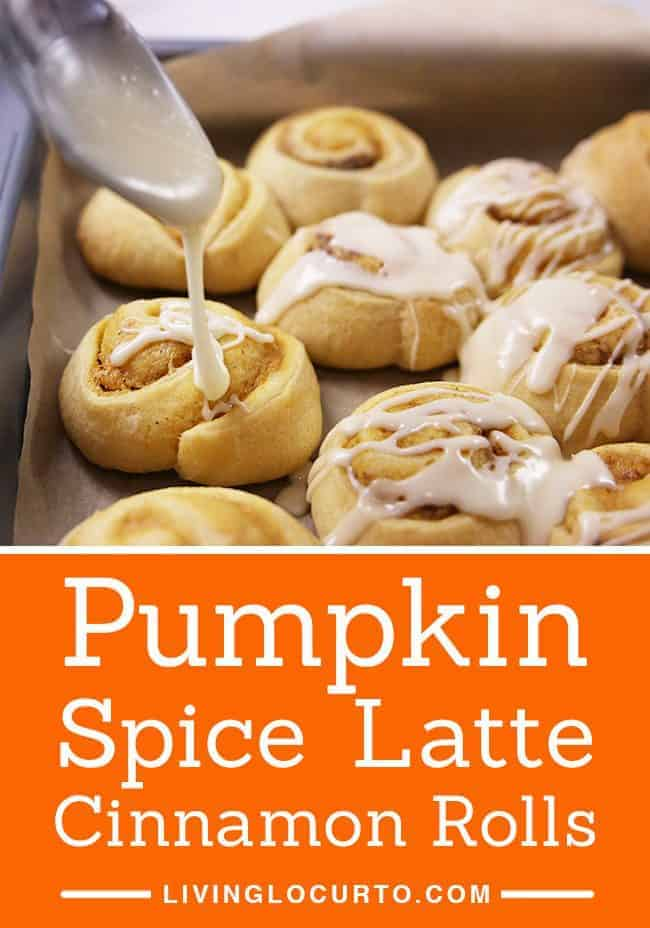 A quick and easy homemade breakfast in less than 25 minutes! Pumpkin Spice Latte Cinnamon Rolls make any morning feel special! With a hint of coffee, cream cheese and pumpkin spices, your taste buds will jump for joy.