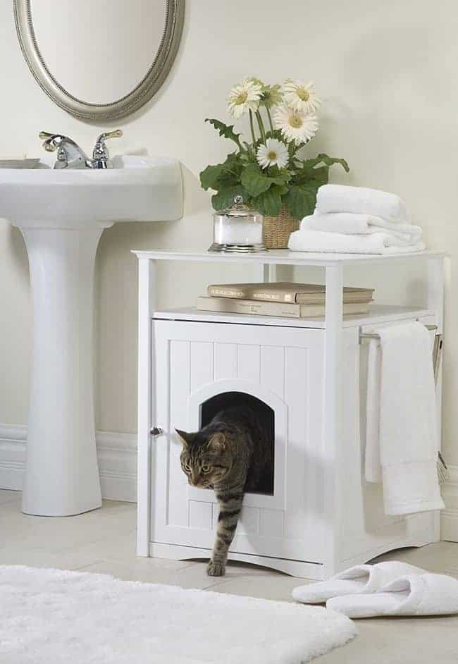 cat home decor ideas kitty litter cabinet