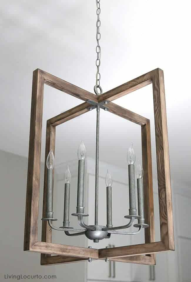 Farmhouse Kitchen Wayfair Turnbury Six Light Chandelier. Before and After White Kitchen Photos. LivingLocurto.com