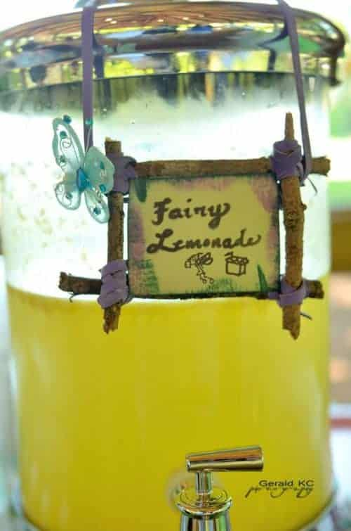 Fairy Party Punch - Bring the sparkle to any birthday party or kids activity with the most magical Fairy Party and Craft Ideas!