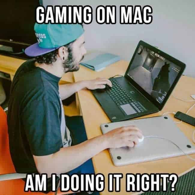gaming on a mac
