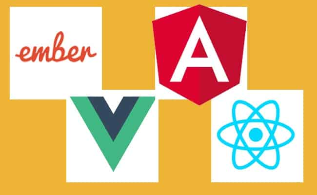 Front-end framework logos
