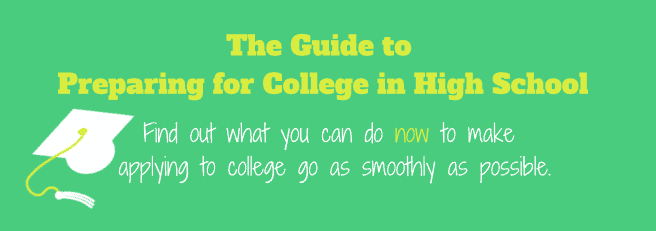 Find out what you can do NOW to make applying to college go as smoothly as possible!