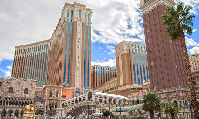 The Venetian on Tuesday, March 17, 2020, in Las Vegas. (Benjamin Hager/Las Vegas Review-Journal) @benjaminhphoto