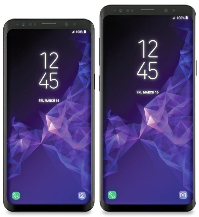 Design Samsung Galaxy S9 en S9+ opgedoken