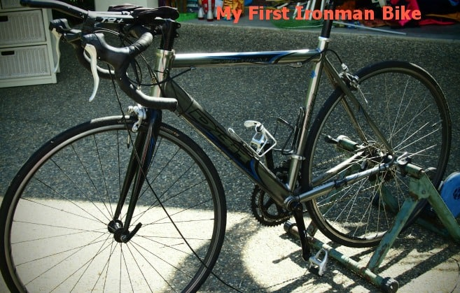 My First Ironman Bike