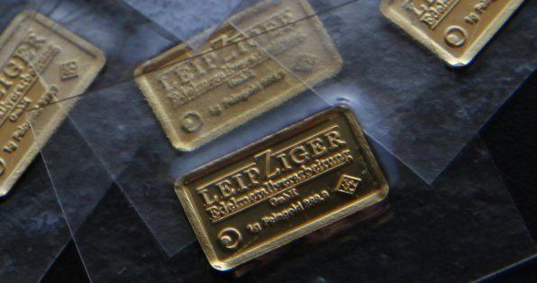 Gold, Goldbarren, Krisengeld, Gold kaufen, 1-Gramm, Goldbarren (Foto: Goldreporter)