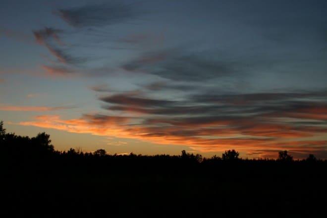Zonsondergang bij Oude Willem fotograaf Jurjen Dijkhuis