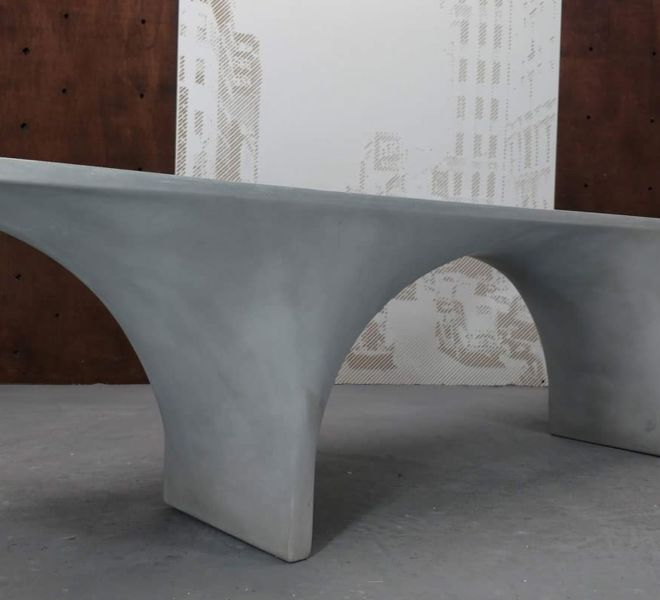 Bridger Concrete Bench