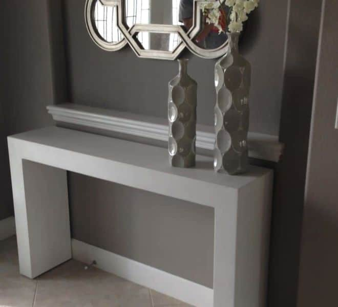 white-concrete-console-table