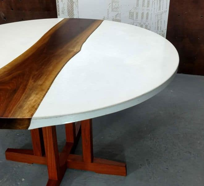 white-concrete-walnut-dining-table