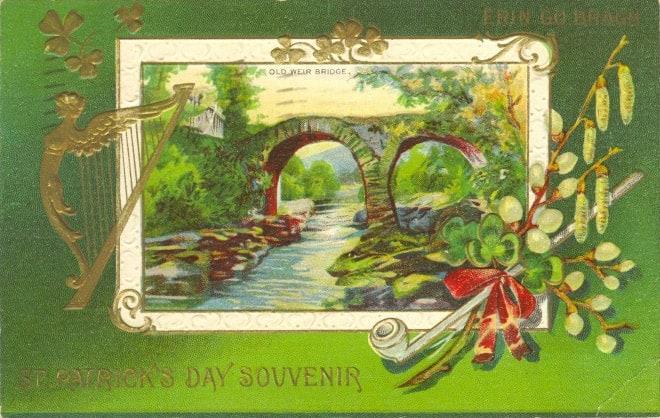 St Patrick's day souvinir 1912