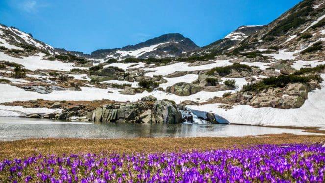 El Parque Nacional de Pirin
