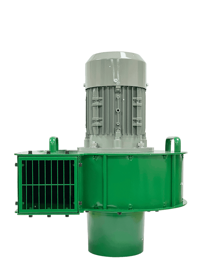 Martin Lishman F2 Green agricultural crop cooling fan