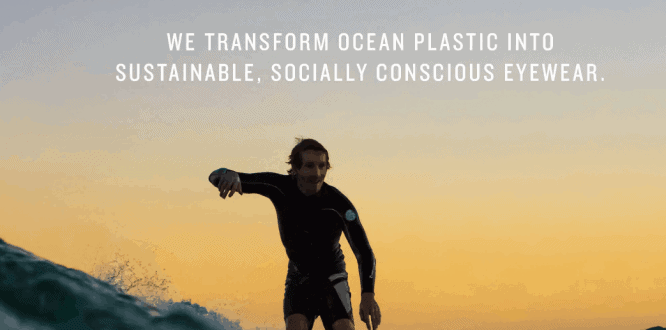 Norton Point _ Ocean Plastic Sunglasses