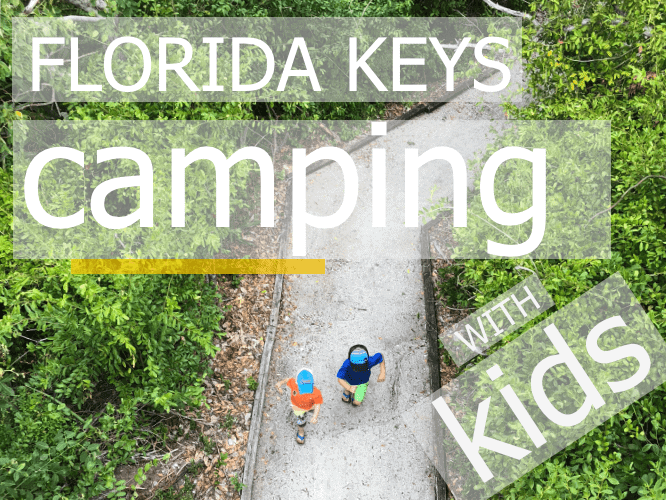 Florida Keys Camping with kids cover