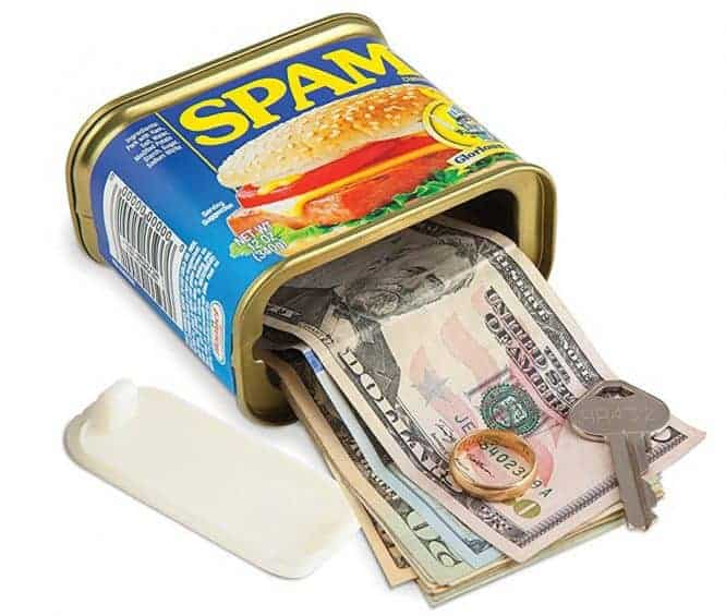 Spam secret safe