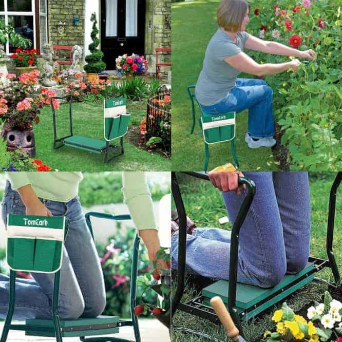 9 best gardening gadgets and tools folding garden bench