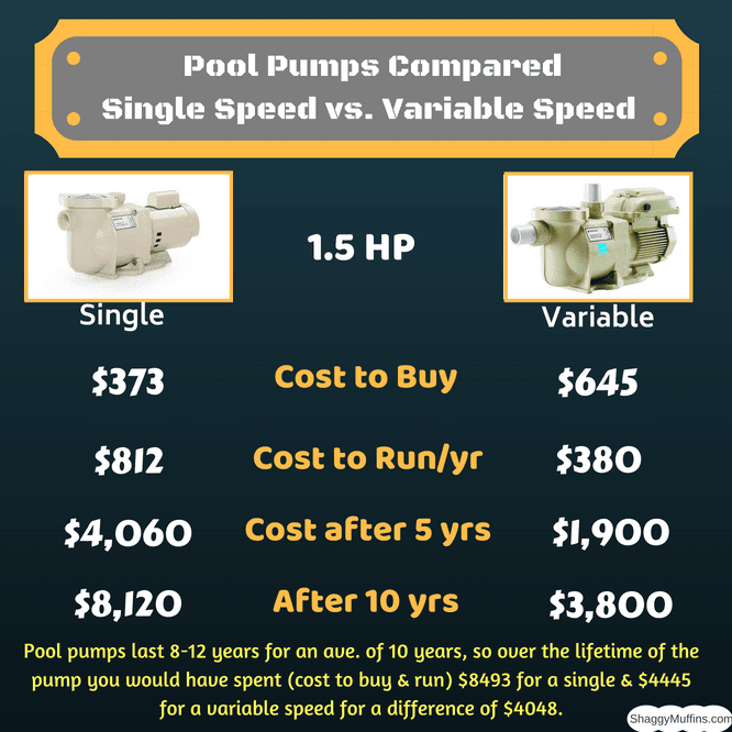 Single vs. Variable Speed Pool Pumps Compared