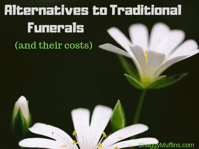 Alternatives to traditional funerals and their costs